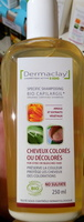 Bio Capilargil Shampooing cheveux colorés ou décolorés Argile et Extraits végétaux - Produit