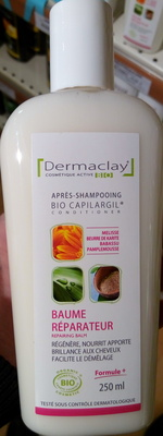 Bio Capilargil Après-shampooing Baume réparateur Mélisse Beurre de karité Babassu Pamplemousse - Product - fr