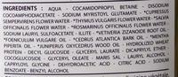 Bio Capilargil Specific Shampooing Argile et Extraits végétaux Pellicules - Ingredients - fr