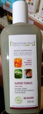 Bio Capilargil Specific shampooing Argile et Extraits végétaux Super Tonus - Product