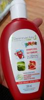 Shampooing 2 en 1 démêlant Fraise Grenade Lait de coton - Produit - fr