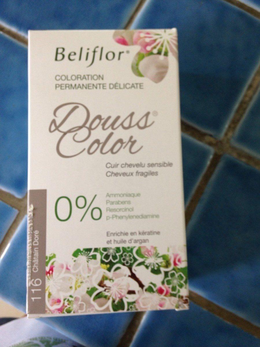 Coloration Douss Color 116 Châtain Doré - 131ML - Beliflor - Product - fr