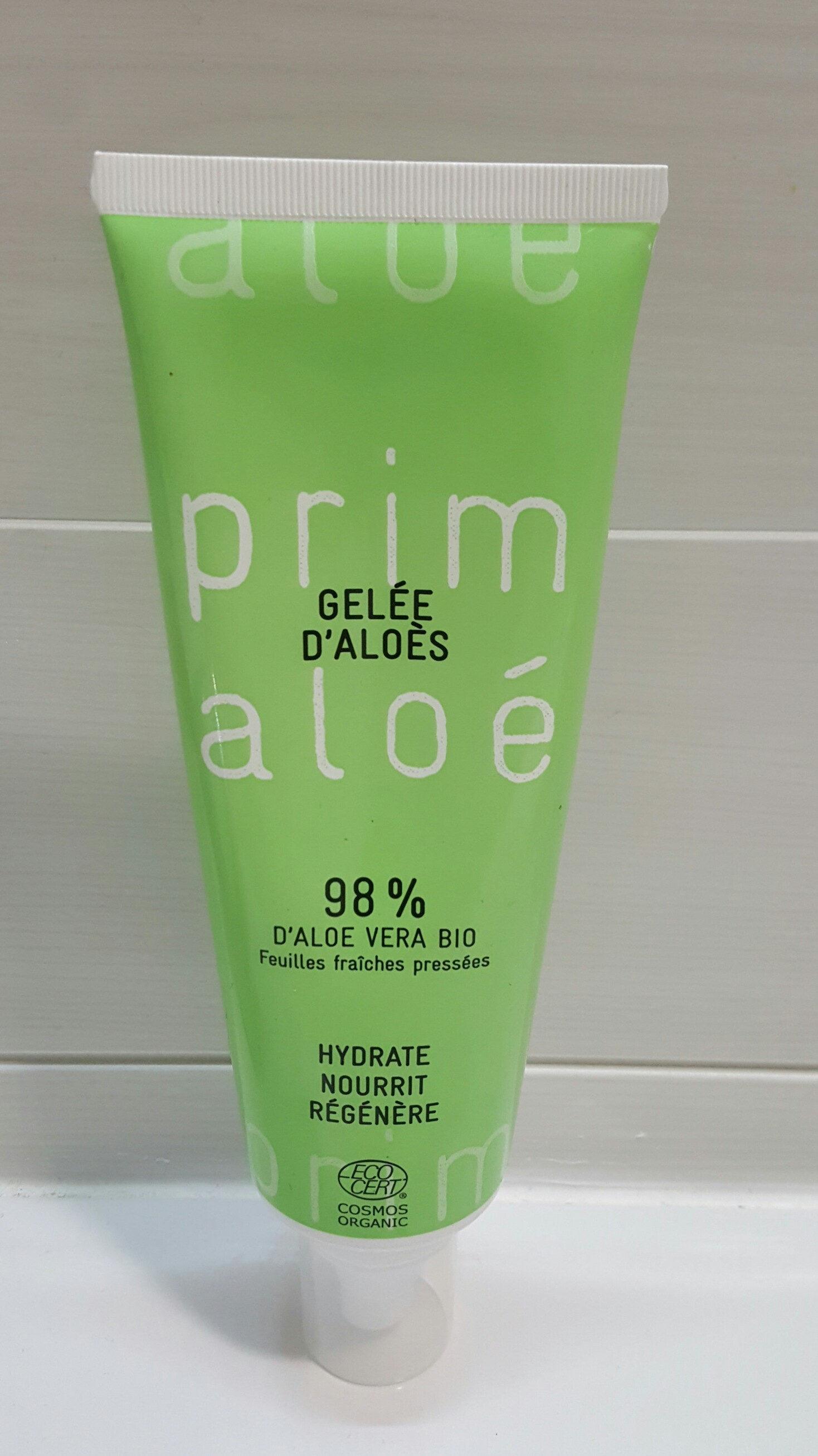 Gelée D'aloès Aloé Vera - Produit