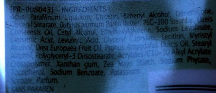 Crème hydratante Visage & corps Olive & Amande douce - Ingredients - fr