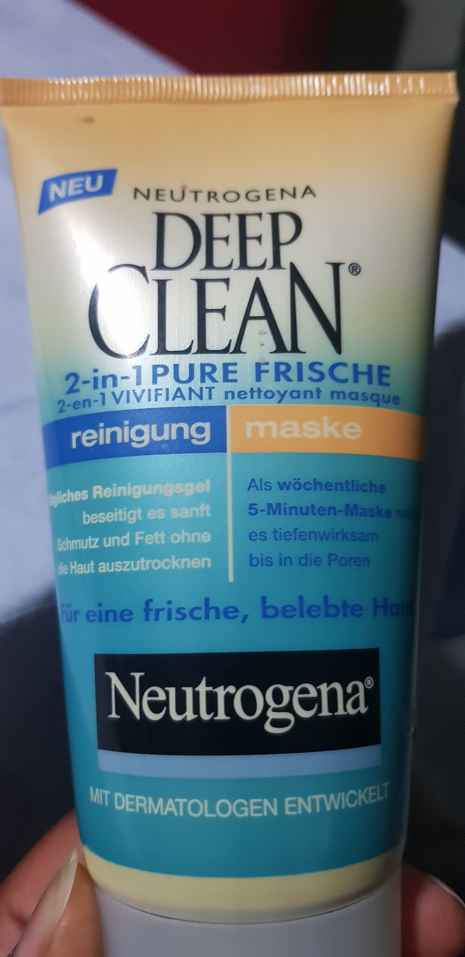 DEEP CLEAN 2 in 1 pure frische - Product - fr