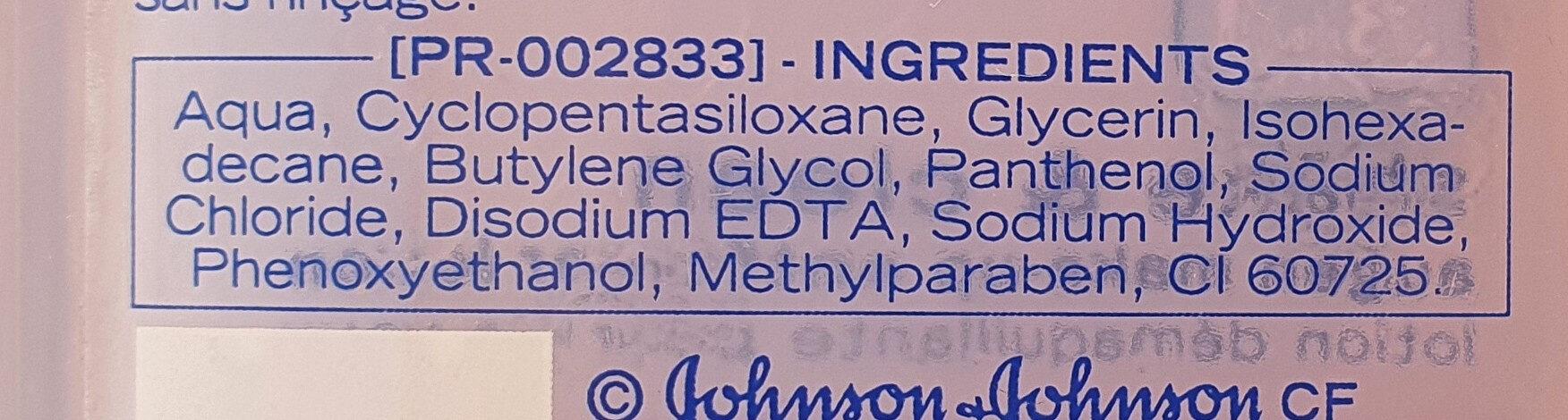3in1 shake and clean augen make-up entferner lotion - Ingredients - de