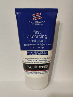 Neutrogena fast absorbing hand cream - Produit - pl
