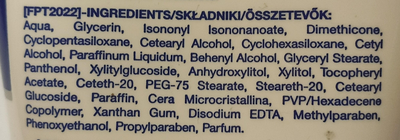 Neutrogena fast absorbing hand cream - Ingrédients - pl