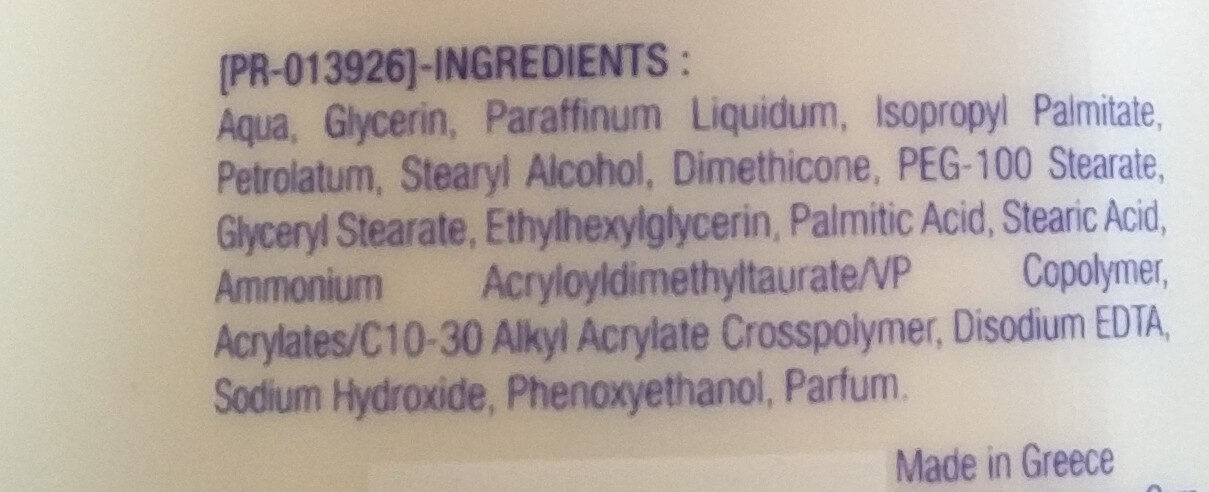 fluida corpo, idratazione intensa - Ingredients - it