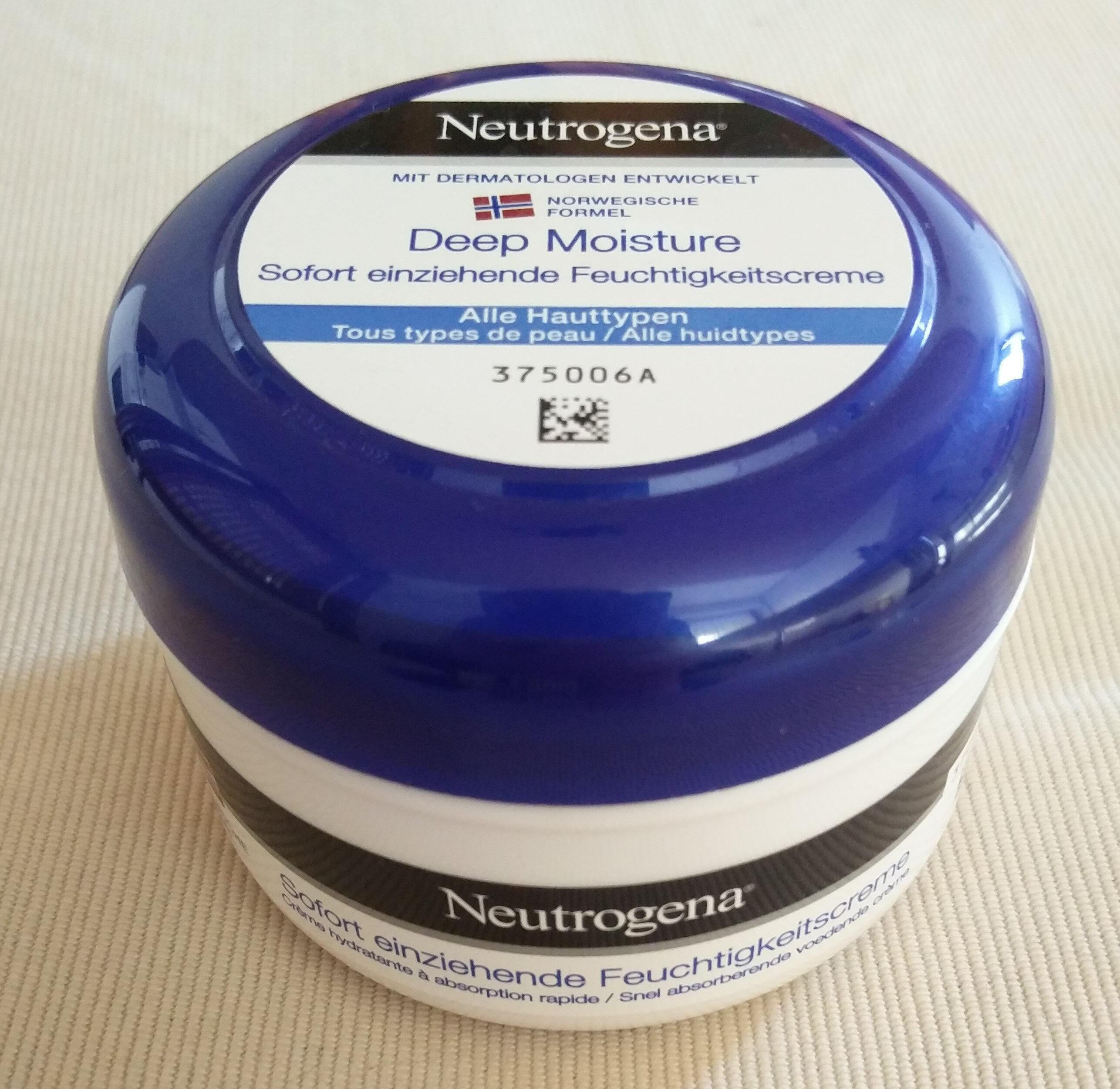 Deep Moisture - Sofort einziehende Feuchtigkeitscreme - Product - de