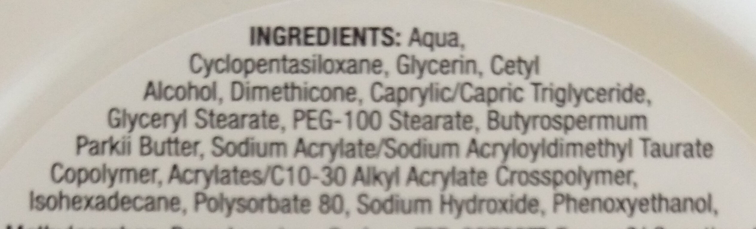 Deep Moisture - Sofort einziehende Feuchtigkeitscreme - Ingredients - de