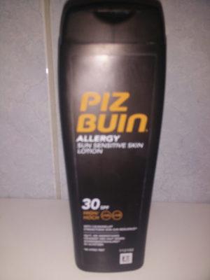 Piz Buin allergy sun sensitive skin lotion - Product - nb
