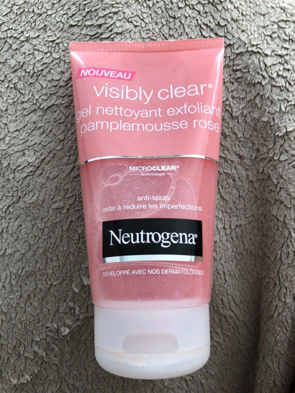 gel nettoyant exfoliant neutrogena - Produit - fr