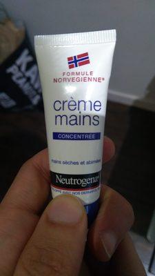 crème mains concentrée - Product