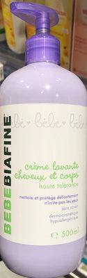 Crème lavante cheveux et corps - Product - fr