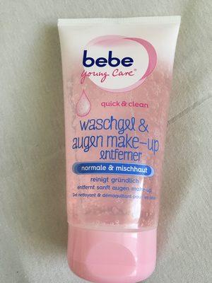 Washgel & augen make-up entferner - Product - fr