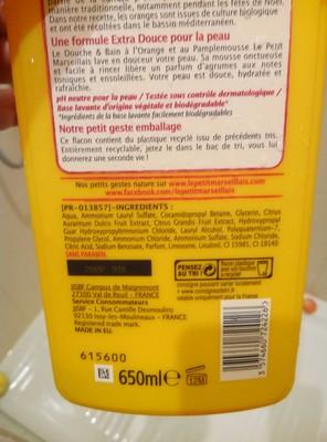 Douche & Bain Orange & Pamplemousse - 1