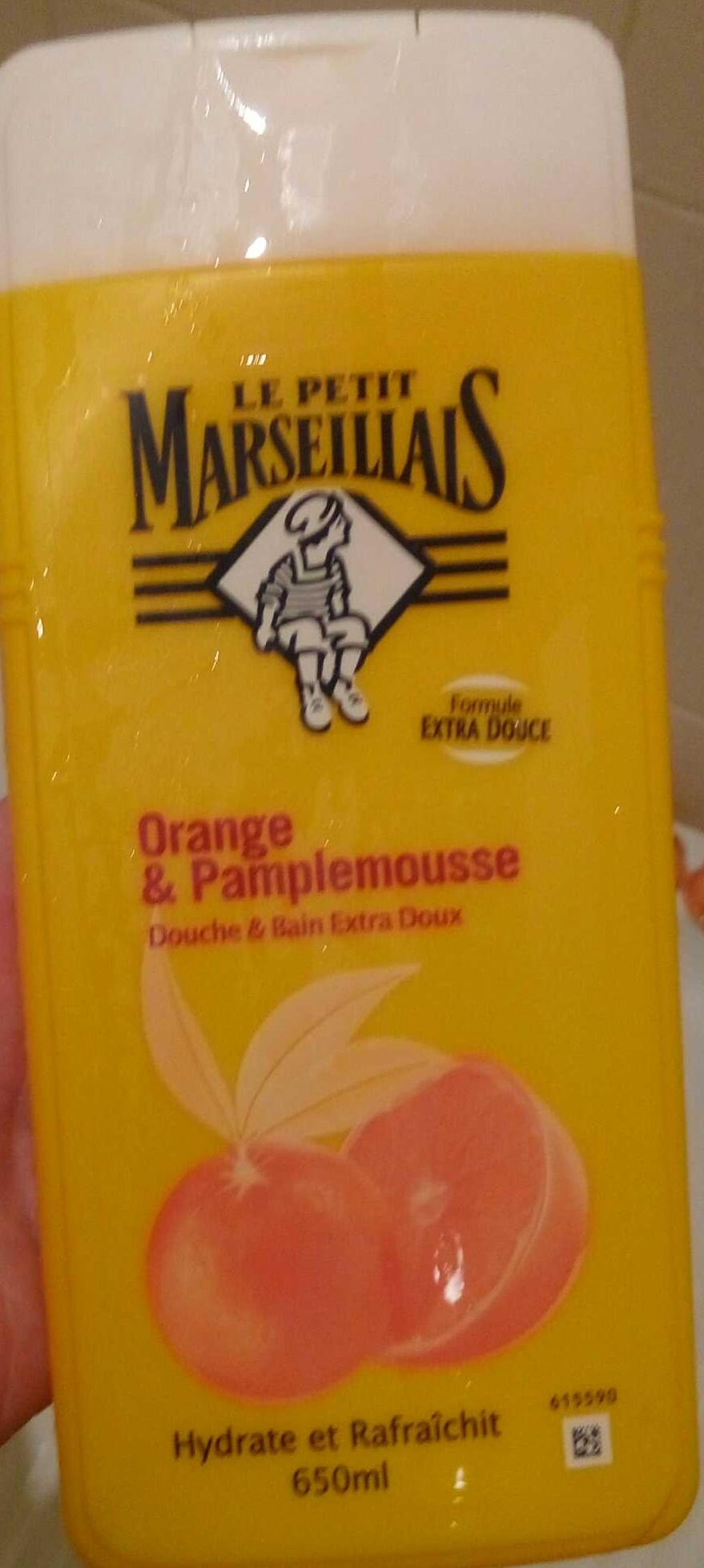 Douche & Bain Orange & Pamplemousse - Produit