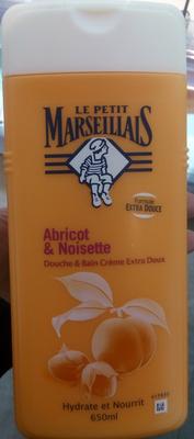 Abricot et noisette douche et bain crème extra doux - Produit - fr