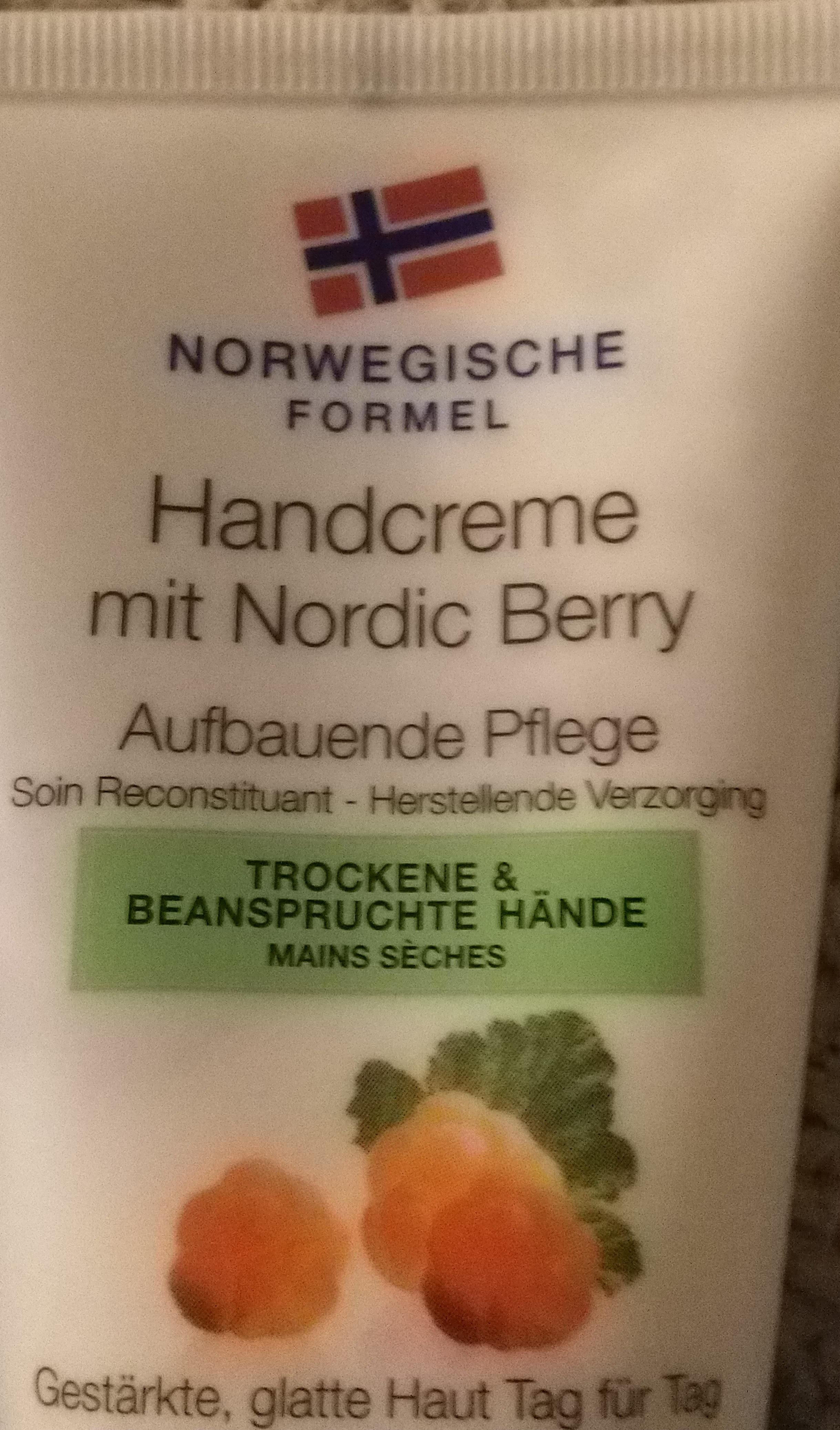 Handcrem mit Nordic Berry - Product - de