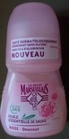 Déodorant Rose Douceur Huile essentielle de Sauge 24H - Product