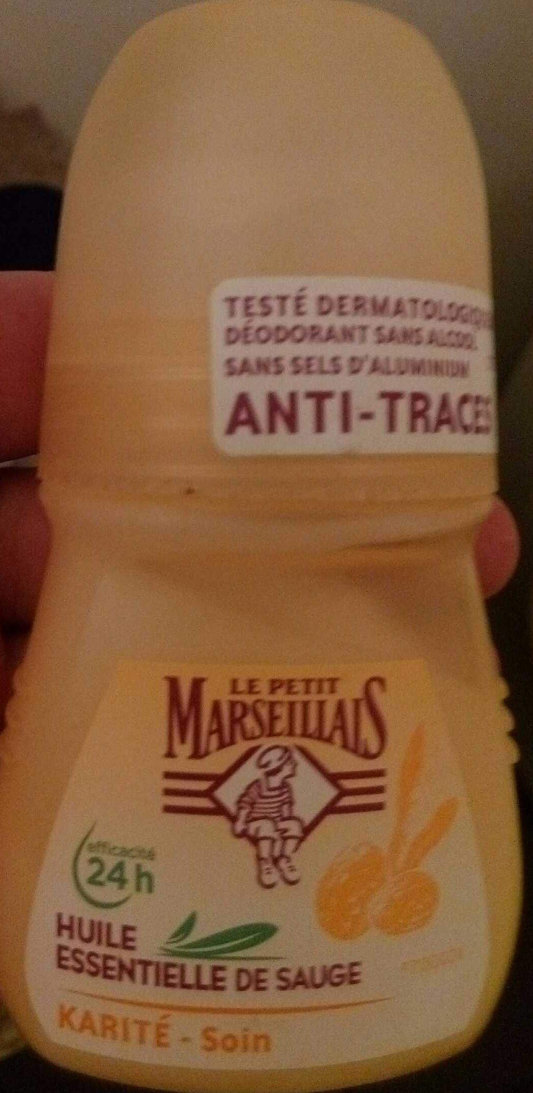 Déodorant Huile essentielle de Sauge - Karité Soin - Produit