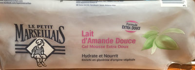 Lait d'amande douce hydrate et nourrit Gel mousse extra doux - Product