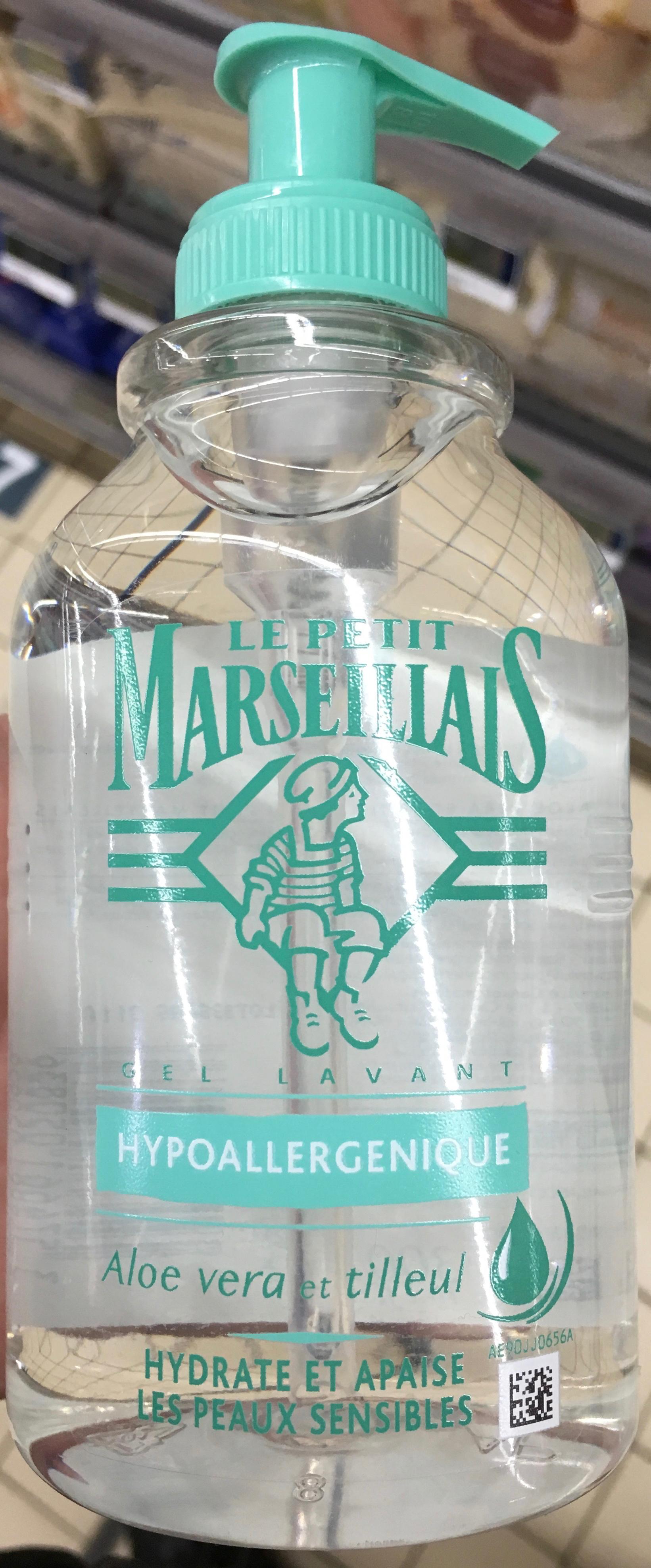 Gel lavant hypoallergenique aloe vera et tilleul - Produit