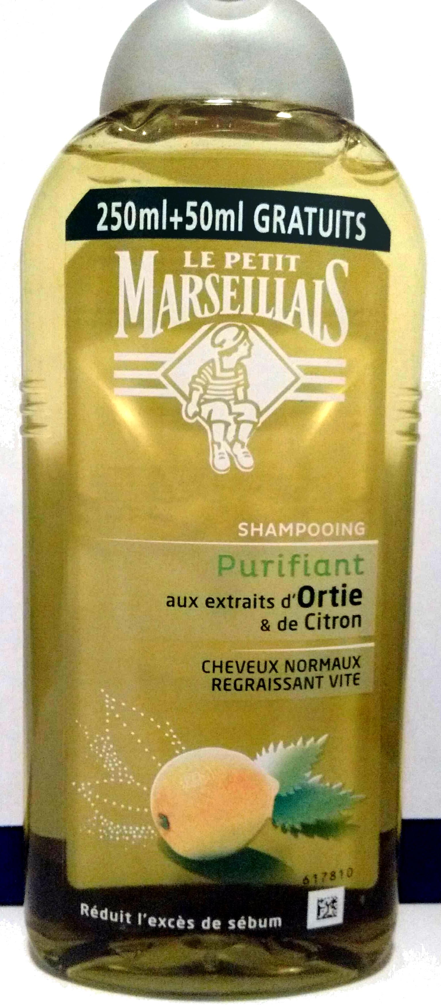 Shampooing Purifiant aux extraits d'Ortie et de Citron - Produit - fr