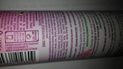 Déodorant huile essentielle de sauge - Ingredients - en