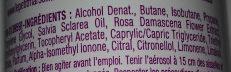 Déodorant huile essentielle de sauge - Ingrédients