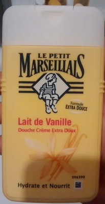 Douche crème extra doux Lait de Vanille - Produit