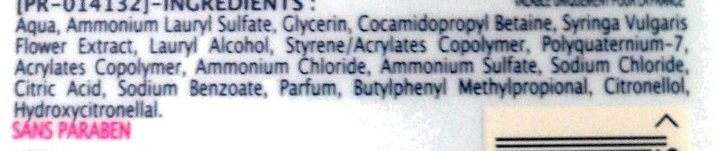 Douche crème extra doux Lilas - Ingrédients - fr