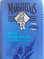 Gel douche Extra Doux, Pin & Criste Marine - Produit