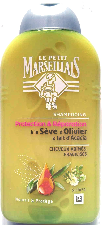 Shampooing Protection & Réparation à la Sève d'Olivier & Lait d'Acacia - Product - en