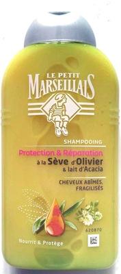 Shampooing Protection & Réparation à la Sève d'Olivier & Lait d'Acacia - Produit