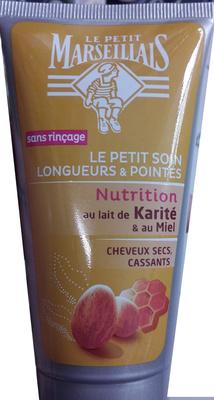 Le petit soin longueurs et pointes nutrition au Lait de karité et au miel - Product