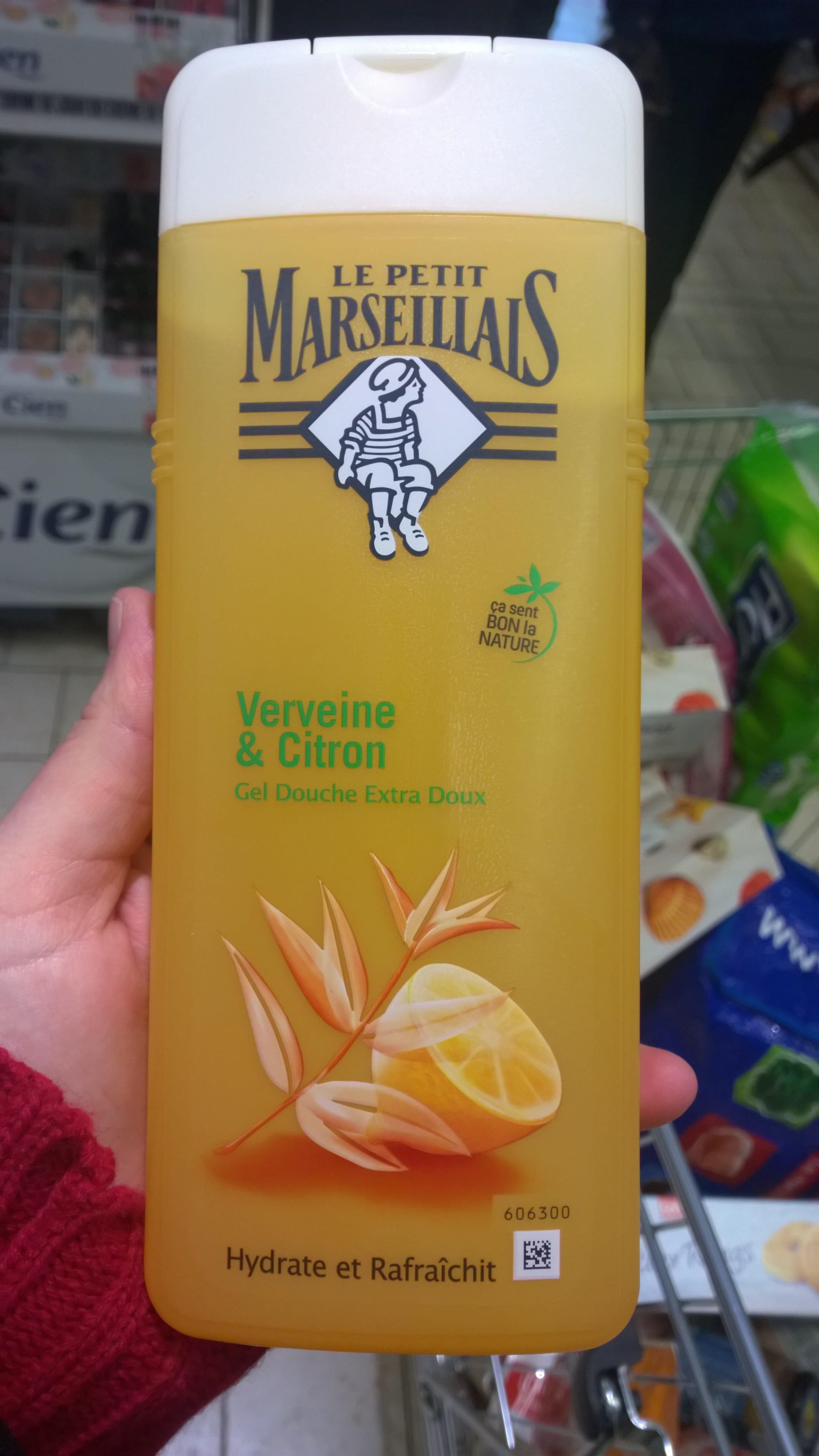 Verveine et citron - gel douche extra doux - Product - fr