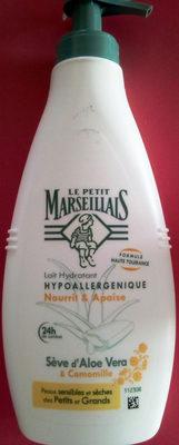 Lait Hydratant Hypoallergénique Sève d'Aloe Vera & Camomille - Product - fr