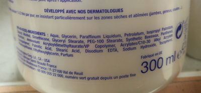 intense repair - Ingredients - fr