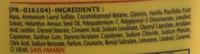 Lait de vanille Douche et bain moussant extra doux - Ingredients