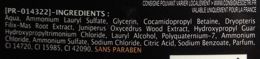 Bois de Cade et Fougère - Ingredients