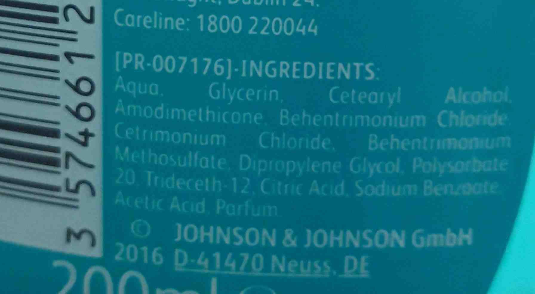 No more tangles - Ingredients - en