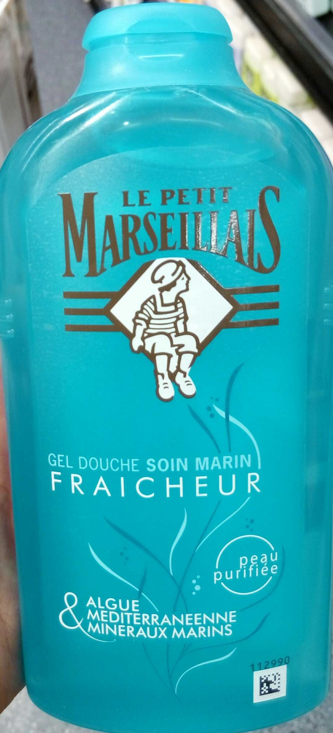 gel douche soin marin fraicheur le petit marseillais 250 ml 8 4 fl oz. Black Bedroom Furniture Sets. Home Design Ideas