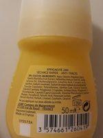 Déodorant 24 h extra doux lait de vanille - Ingrédients - fr