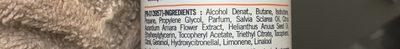 Déodorant extra doux 24 h fleur d'oranger - Ingrédients