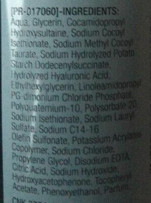 Hydro Boost Aqua Reinigungsgel - Ingredients - de