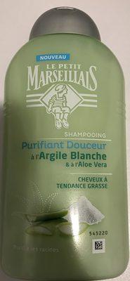 Shampooing Purifiant Douceur à l'Argile Blanche & à l'Aloe Vera - Produit