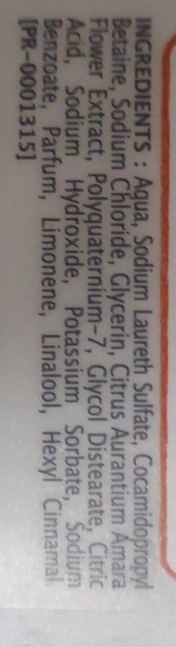 Douche crème - Ingredients - fr