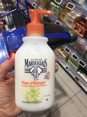 Crème mousse - Produit
